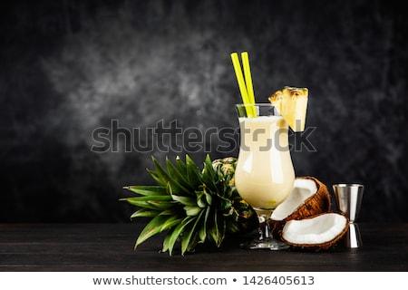 sweet · cocktail · plage · photo - photo stock © netkov1
