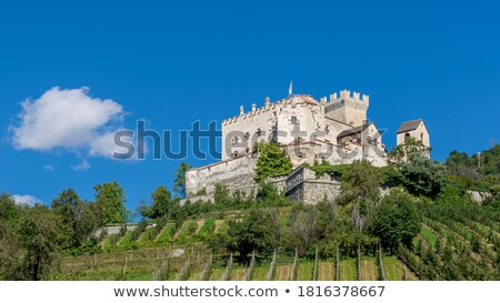 Churburg in South Tyrol Stock photo © LianeM
