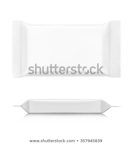 üres sablon kekszek illusztráció étel művészet Stock fotó © bluering