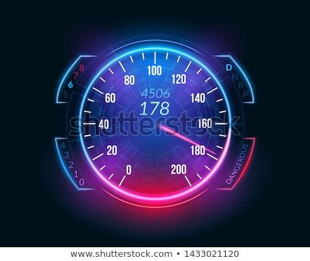 Velocidad vector blanco ciencia gráfico corredor Foto stock © bluering