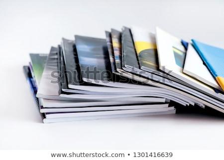 printing office industry with many books stock photo © zurijeta