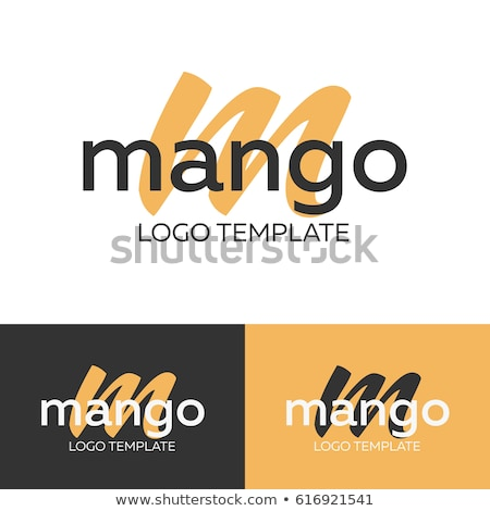 手紙m マンゴー 実例 白 テクスチャ ツリー ストックフォト © bluering