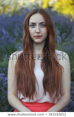 standard portrait of a natural woman Stock photo © Giulio_Fornasar