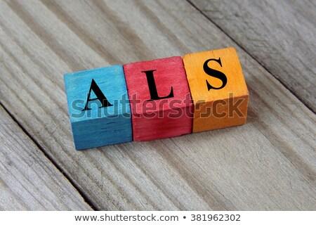 Diagnosis - Sclerosis. Medical Concept.  Stock photo © tashatuvango