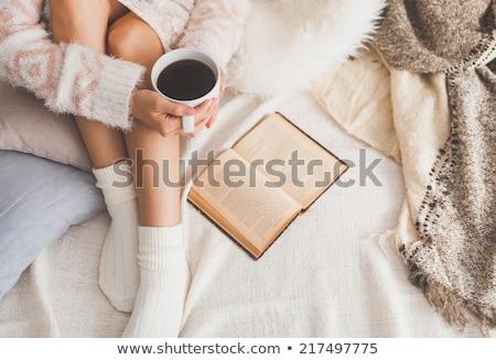 Nazik kadın sabah portre güzel güzel Stok fotoğraf © Anna_Om