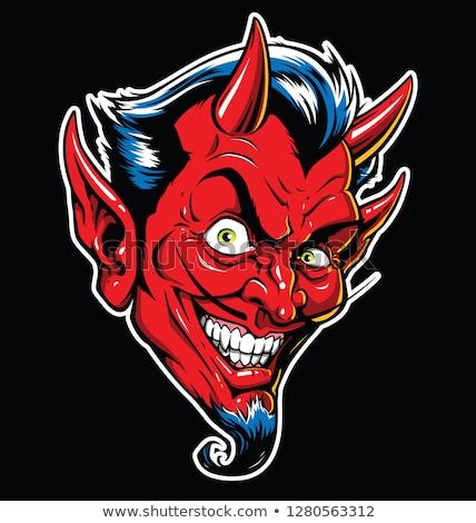 satan head stock photo © derocz