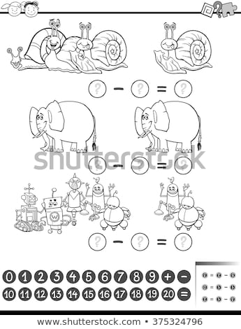 Snail robot cartoon Vector Illustration Stock photo © Natali_Brill