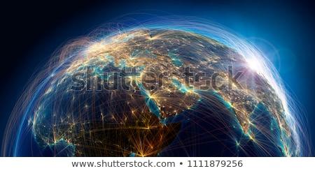 Global Business Air Travel Stock photo © alexaldo