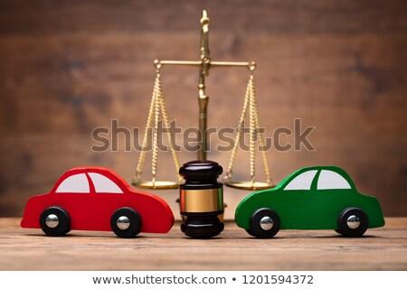 2 赤 緑 車 正義 規模 ストックフォト © AndreyPopov