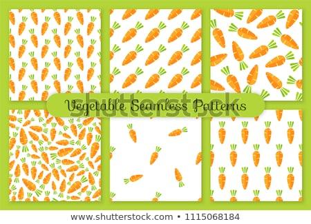 friss · ízletes · narancs · répák · illusztráció · étel - stock fotó © popaukropa