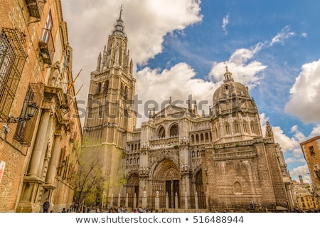 Catedral histórico cidade Espanha unesco mundo Foto stock © boggy