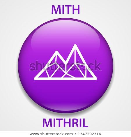Logo madeni para pazar amblem para piyasası Internet Stok fotoğraf © tashatuvango