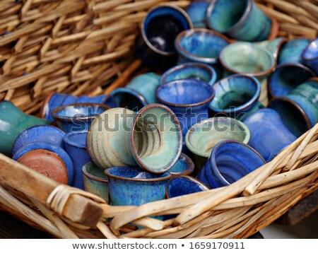Set of earthenware Stock photo © pressmaster