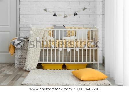 Baby slaapkamer familie huis Stockfoto © Lopolo