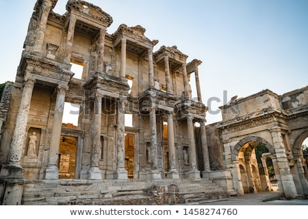 ruins of the ancient city ephesus stock photo © grafvision