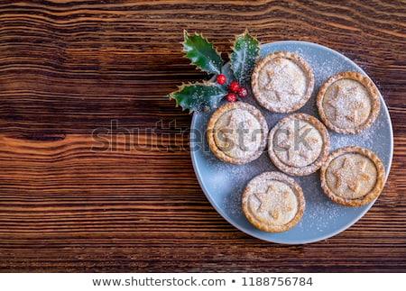Mince pies Stock photo © trgowanlock