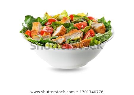 クローズアップ · 混合した · サラダ · トルコ · レタス · トマト - ストックフォト © aladin66