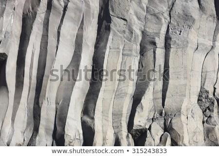 kaya · oluşumu · çim · orman · doğa · manzara · dünya - stok fotoğraf © prill