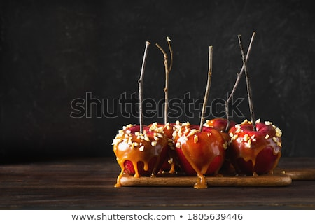 candy, toffee apple Stock photo © M-studio