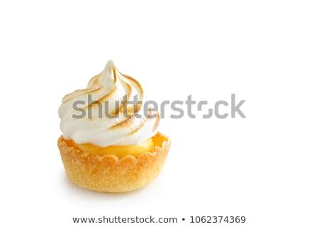Fruit tart merangue Stock photo © gregory21