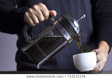 горячей кофе Кубок пить энергии Сток-фото © ElinaManninen