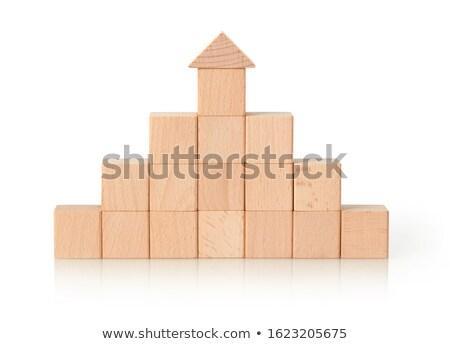 木製のブロック形状 ストックフォト © goir