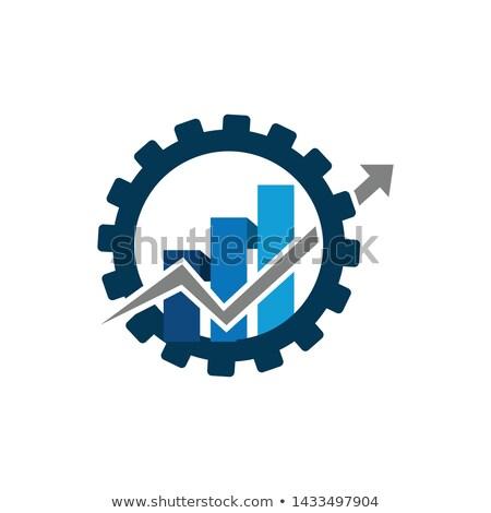 3D · diagram · toll · 3d · render · projekt · haladás - stock fotó © cgsniper