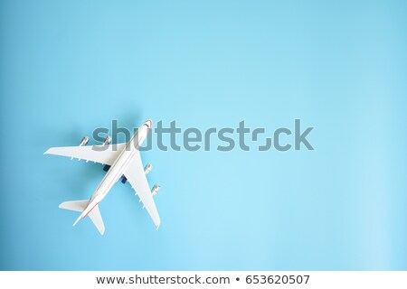 Stock photo: concept for airplane vacation