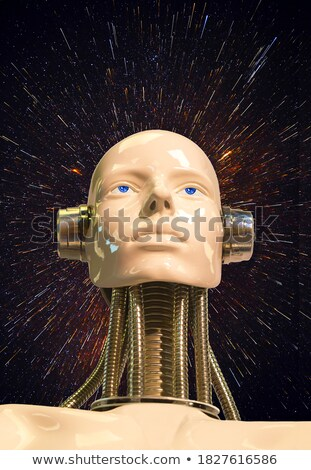 Patlayıcı kişilik soyut görüntü sanat beyin Stok fotoğraf © cteconsulting