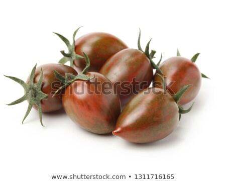 maduro · negro · cereza · textura · alimentos - foto stock © m-studio