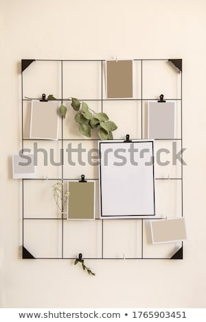 Memorándum pared Foto stock © zzve