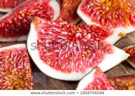 ripe purple figs on the board in the kitchen  Stock photo © freshinfo