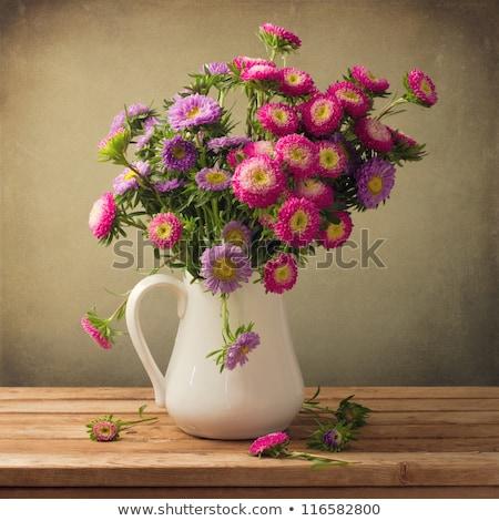 dahlia · bloemen · boeket · vers · gemengd · hemel - stockfoto © inxti