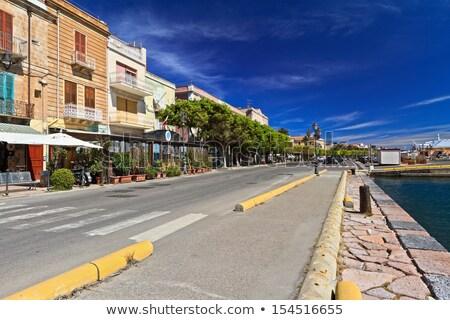 promenade in Carloforte Stock photo © Antonio-S