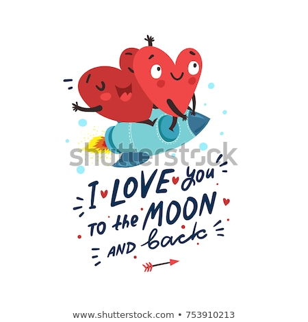 красивой любви навсегда карт вектора дизайна Сток-фото © bharat
