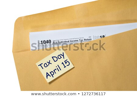 Stock photo: April 15, Tax Due