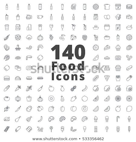 ファストフード 食品 ドリンク コーヒー 芸術 ストックフォト © elenapro