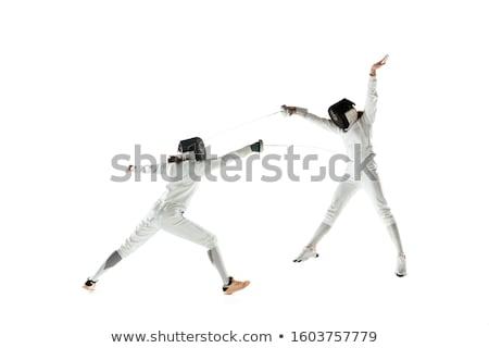 Sword And Helmet Stock photo © cosma