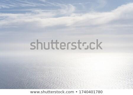 夢のような 海 青空 長時間暴露 岩 水 ストックフォト © silkenphotography