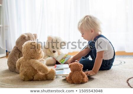 Teddy friends Stock photo © vanessavr