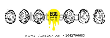 eggs border stock photo © natika