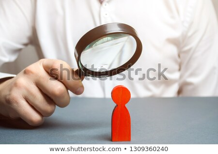 Psychology through Magnifying Glass. Stock photo © tashatuvango