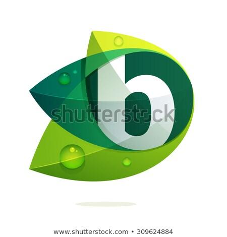 saudável · alfabeto · carta · legumes · frescos · frutas · isolado - foto stock © shawlinmohd