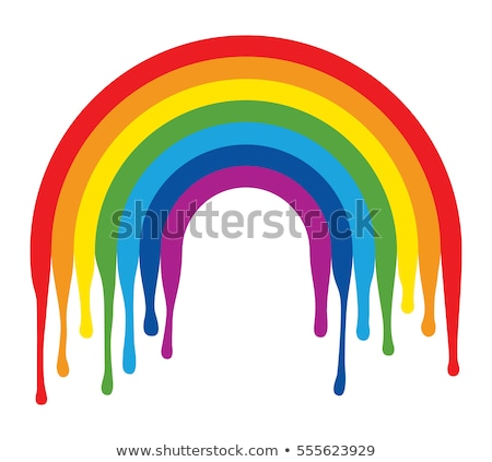 Rainbow Drip Stock photo © lenm