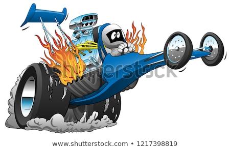 Foto stock: Vector · Cartoon · formato · grupos · fácil · fuego