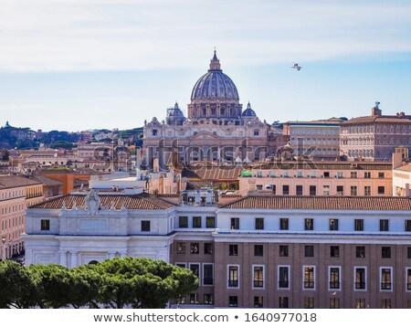 歴史的 ドーム バチカン イタリア 芸術 旅行 ストックフォト © jarin13