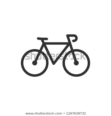 fiets · rem · ingesteld · berg · wiel · reparatie - stockfoto © compuinfoto
