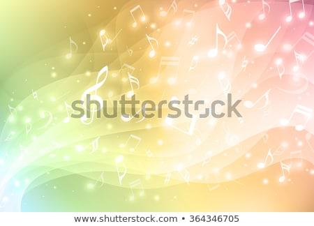 Vektor zene terv művészet absztrakt éjszaka Stock fotó © Pinnacleanimates