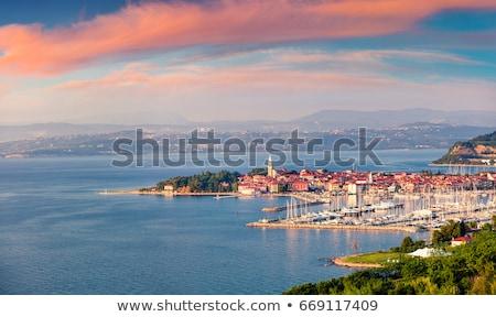 Picturesque old town Izola, Slovenia. Stock photo © kasto