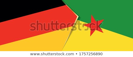 Germany and French Guiana Flags Stock photo © Istanbul2009